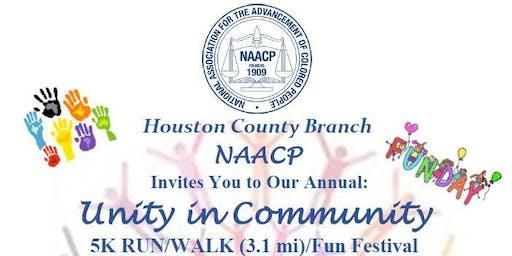 2019 Unity in the Community 5K Run/Walk