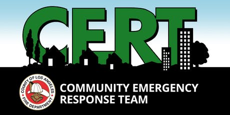 CERT Training (Cerritos) tickets