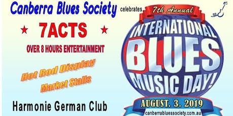 CBS celebrates International Blues Music Day tickets