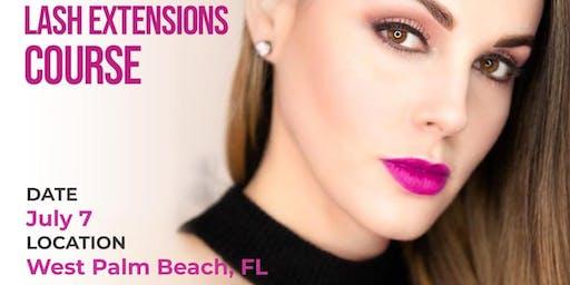 Lash Extensions Class - West Palm Beach