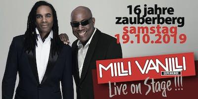 16 Jahre Zauberberg. Live on Stage: MILLI VANILLI