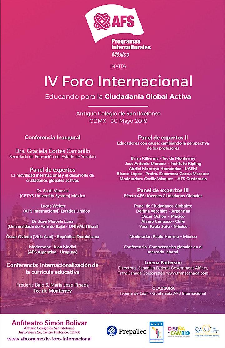 Imagen de IV Foro Internacional: Educando para la Ciudadanía Global Activa