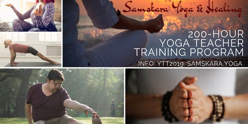 Yoga Teacher Training with Samskara Yoga (Weekends, Aug - Dec 2019)
