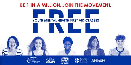 YOUTH Mental Health First Aid: September 18 at KCMHSAS tickets