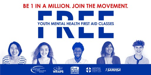 YOUTH Mental Health First Aid: September 18 at KCMHSAS