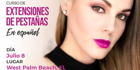 Curso de Extensiones de Pestañas - West Palm Beach tickets
