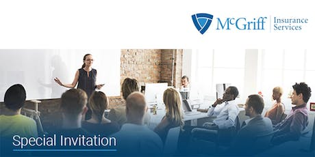 McGriff Insurance Services  Annual Symposium-Lunch & Learn tickets