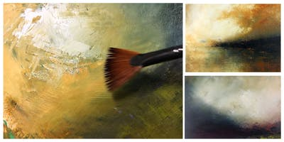 Atmospheric Landscapes - Oil and Cold Wax