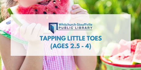 Tapping Little Toes (ages 2.5 - 4) tickets