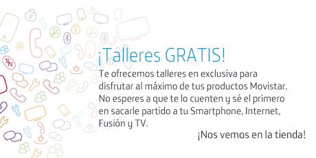 Talleres Fusión Zaragoza: Aprovecha todo el potencial que Movistar pone a tu disposición entradas