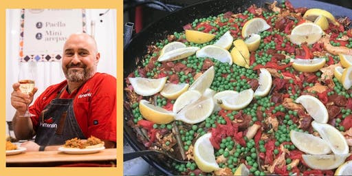 Communal Table at The Bentway: Spanish Paella Fiesta with José Arato