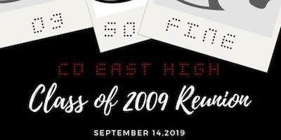 CD East High 2009 - 10 Year Class Reunion!