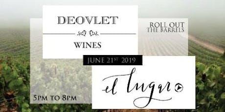 Deovlet & El Lugar Joint Dinner tickets