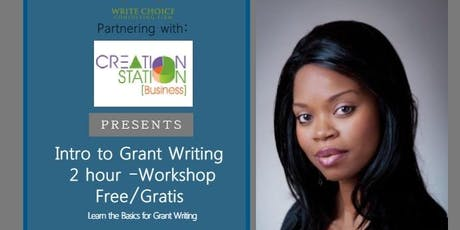 Intro to Grant Writing tickets