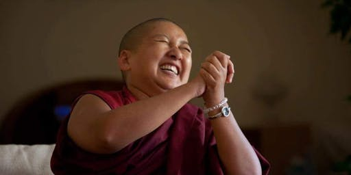Khandro Rinpoche in Boston  Aug,13,14 Tue/Wed evenings  Wilson Chapel