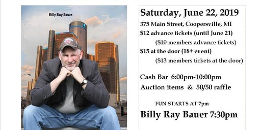 Billy Ray Bauer Comedy Show
