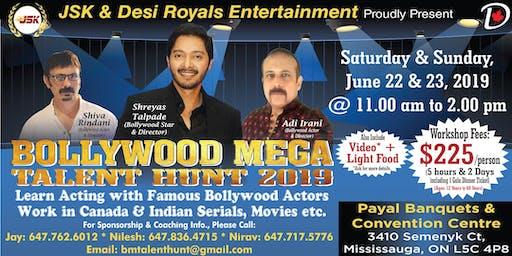 Bollywood Mega Talent Hunt 2019 with Bollywood Star Shreyad Talpade