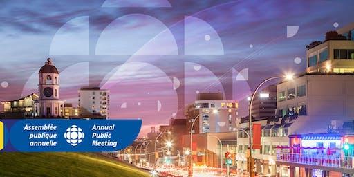 CBC/Radio-Canada - Annual Public Meeting / Assemblée publique annuelle