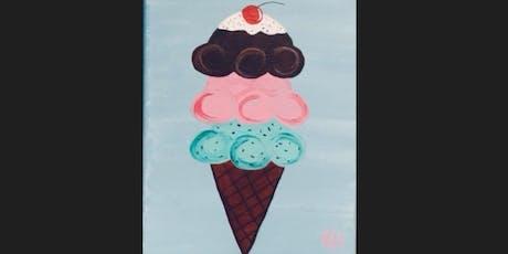 Ice Cream Kid Paint Camp tickets