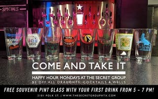 COME AND TAKE IT MONDAYS!