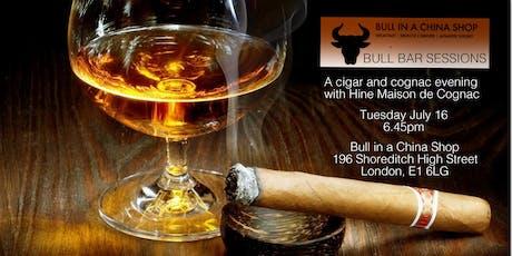 Hine Cognac tasting and Havana Cuban cigar evening - Shoreditch tickets