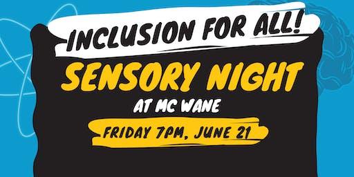 Sensory Night at McWane Science Center