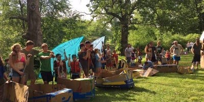 Summer Solstice Festival, Riverfest and Cardboard Boat Race Challenge