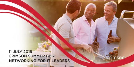 Crimson Summer BBQ – Networking for IT leaders 2019 tickets