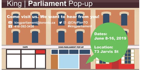 King-Parliament Pop-up tickets
