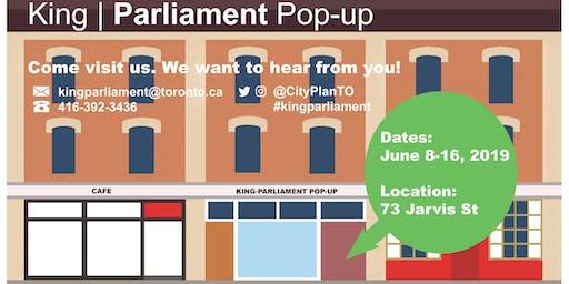 King-Parliament Pop-up