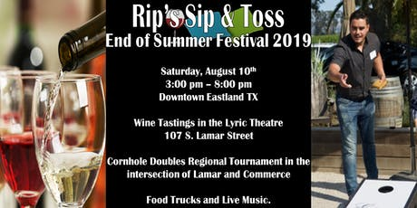 Rip's Sip and Toss End of Summer Festival 2019 tickets