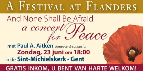 And None Shall Be Afraid: A Concert For Peace tickets