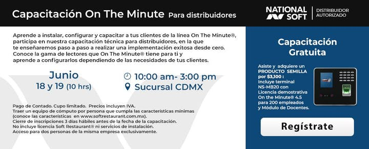 Cdmx Capacitación On The Minute Para Distribuidores 18