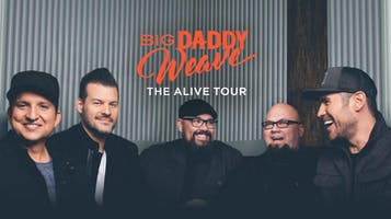 "Big Daddy Weave ""Alive"" Tour"