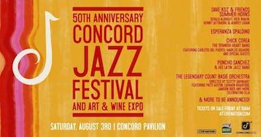 50th Anniversary Concord Jazz Festival