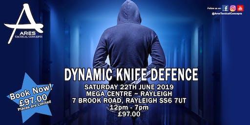 Dynamic Knife Defence Workshop