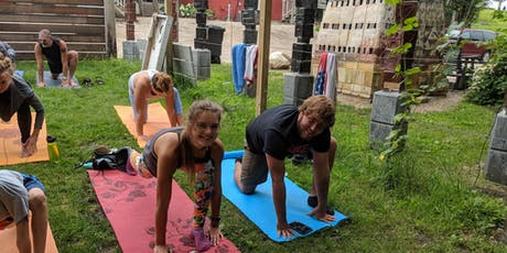 Yoga and Beer at Goat Ridge -> All Ages, All Abilities, All for Fun <- tickets