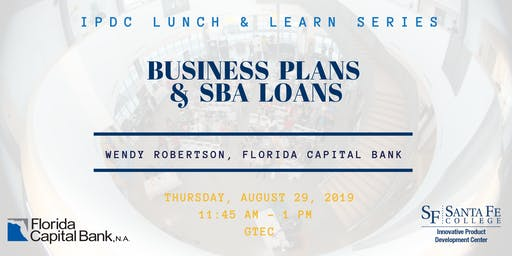 IPDC Lunch & Learn Series: Business Plans & SBA Loans