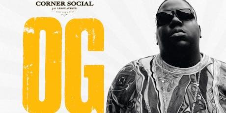 OG Mondays @Corner Social tickets
