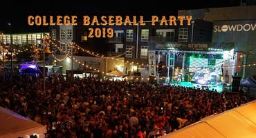 College Baseball Party 2019