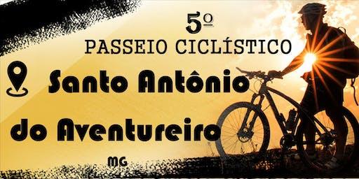 5º PASSEIO CICLÍSTICO DE SANTO ANTÔNIO DO AVENTUREIRO
