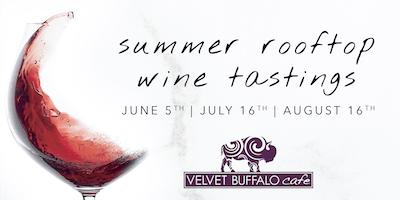 Summer Rooftop Wine Tasting