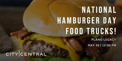 National Hamburger Day Food Trucks!