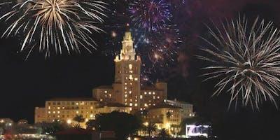 Fireworks at The Historic Biltmore