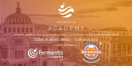 Fermentis Academy Mexico 2019 entradas