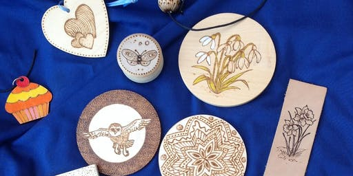 Pyrography Workshop with Bob Neill