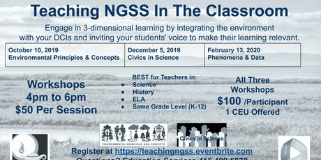 Teaching NGSS In The Classroom tickets