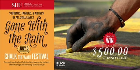 Gone with the Rain: Chalk the Walk Festival tickets
