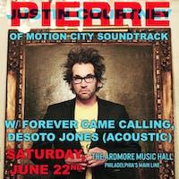 Justin Courtney Pierre (of Motion City Soundtrack)