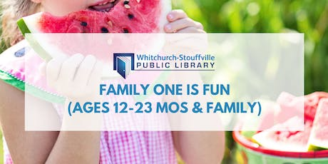 Family One is Fun (ages 12-23 mos & family) tickets